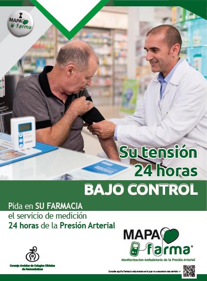 Cartel MAPAfarma en Farmacia