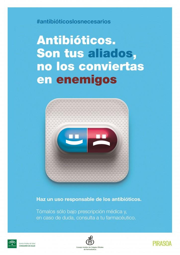 Poster Campaña antibioticoslosnecesarios